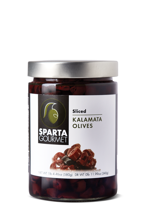 Sliced Kalamata Olives